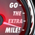 go the extra mile speedometer words further extended driving eff stock photo © iqoncept