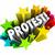 протест · говорить · из · 3D · слово · объект - Сток-фото © iqoncept