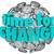 時間 · 変更 · ステッカー · 目覚まし時計 · を実行して · 白 - ストックフォト © iqoncept