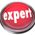expert red button light advertise expertise experience skills stock photo © iqoncept