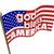 god bless america usa flag united states religion motto stock photo © iqoncept