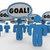 goal shared mission objective team people working together 4k stock photo © iqoncept