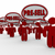 3D · tekstballon · 3d · render · menselijke · business · communicatie - stockfoto © iqoncept