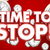 tiempo · parada · reloj · blanco · palabras · fondo - foto stock © iqoncept