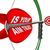 is your aim true question on bow and arrow target stock photo © iqoncept