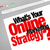 whats your online marketing strategy website screen plan stock photo © iqoncept