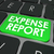 expense report green computer key online accounting submission stock photo © iqoncept