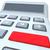 calculadora · plata · 3D · imagen · aislado · blanco - foto stock © iqoncept