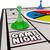 ゲーム · 計画 · 黒板 · 緑 · 戻る · 地上 - ストックフォト © iqoncept