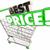 best price shopping cart lowest sale deal 3d illustration stock photo © iqoncept