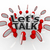lets talk people group in circle discuss in speech clouds stock photo © iqoncept