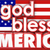 god bless america united states usa flag 3d words stock photo © iqoncept