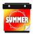 summer sun page wall calendar date start new season stock photo © iqoncept