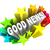 good news announcement message words in stars stock photo © iqoncept