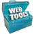 web tools toolbox online website developer kit stock photo © iqoncept