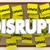 disrupt change sticky notes word shake up status quo 3d illustra stock photo © iqoncept