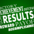 results outcome rewards goal accomplished word collage stock photo © iqoncept