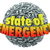 state of emergency 3d words exclamation mark point sphere stock photo © iqoncept