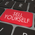 sell yourself computer keyboard red key promotion marketing stock photo © iqoncept