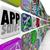 aplicación · ventas · software · aplicación · móviles · dispositivo - foto stock © iqoncept