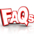 faqs frequently asked questions 3d letters acronym stock photo © iqoncept