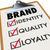 brand checklist identity quality loyalty on clipboard stock photo © iqoncept