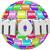 anya · szó · 3D · nagy · szív · központ - stock fotó © iqoncept