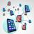 smart phones in communication linked network spheres stock photo © iqoncept