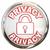 блокировка · слово · тайну · личные · чувствительный · информации - Сток-фото © iqoncept