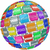 software · dienst · programma · app · tegels · licentie - stockfoto © iqoncept