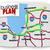 mappa · inizio · up · successo · strada · indicazioni - foto d'archivio © iqoncept
