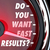 do you want fast results speedometer outcome instant gratificati stock photo © iqoncept