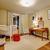 bom · quarto · piso · de · madeira · banquinho · família · casa - foto stock © iriana88w