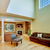 house interior with high ceiling stock photo © iriana88w