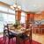 интерьер · современных · красный · интерьер · кухни · дизайна · чистой - Сток-фото © iriana88w