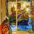 colorful painted window stock photo © iriana88w