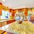 brillante · lujo · cocina · habitación · isla · granito - foto stock © iriana88w