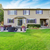 luxury house exterior with impressive backyard landscape design stock photo © iriana88w