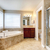 белый · бежевый · ванную · зеркало · мнение - Сток-фото © iriana88w
