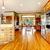 hout · luxe · groot · keuken · eetkamer · Rood - stockfoto © iriana88w