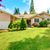 house exterior with front yard landscape design stock photo © iriana88w