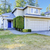 house exterior nice blue house with one garage space stock photo © iriana88w