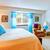 elegant bedroom interior with blue element stock photo © iriana88w