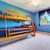 ninos · dormitorio · elegante · brillante · madera · luz - foto stock © iriana88w