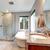 belo · afundar · banheiro · toalha · flor · casa - foto stock © iriana88w