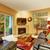 диван · красивой · патио · старые · древесины · архитектура - Сток-фото © iriana88w