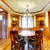 Luxury mountain home diining room with wood molding. stock photo © iriana88w