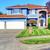 extérieur · de · la · maison · entrée · porche · belle - photo stock © iriana88w