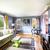sofá · canto · quarto · parede · luz · mobiliário - foto stock © iriana88w