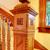 antik · fa · lépcsőház · korlát · részletek - stock fotó © iriana88w